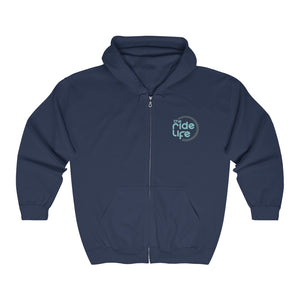 Smile For The Miles Full Zip Hooded Sweatshirt