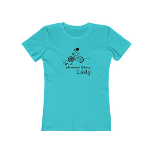I'm A Mountain Biking Lady T-Shirt