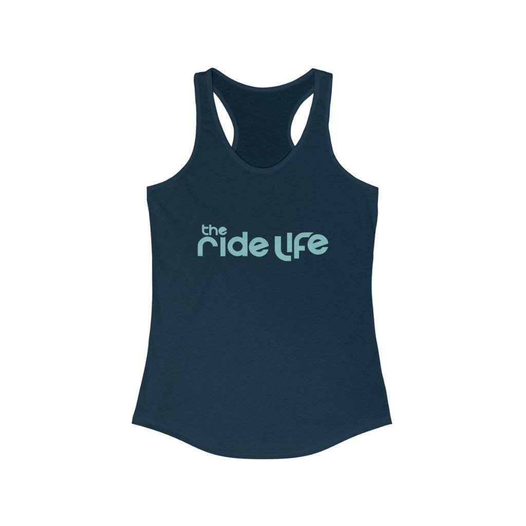 The Ride Life Logo 2 Racerback Tank