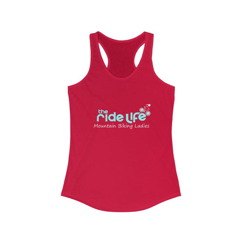Mountain Biking Ladies Racerback Tank