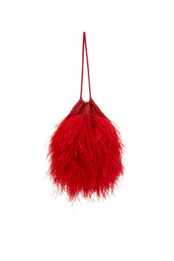 FEATHER BAG ATTICO