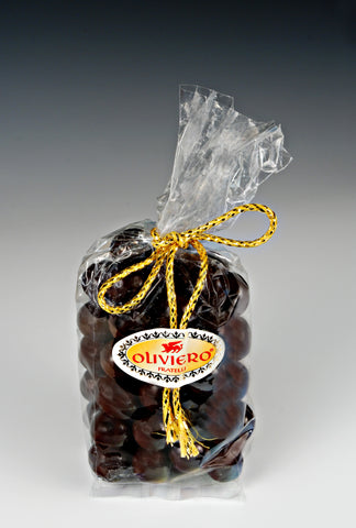Oliviero Dark Chocolate Covered Almonds - Torrone Candy