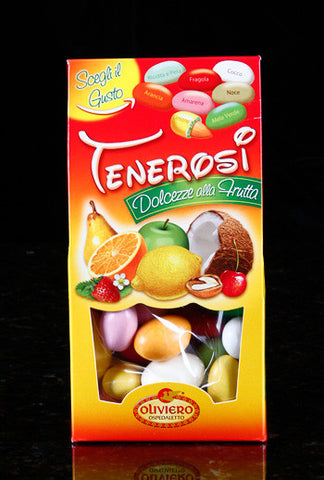 Oliviero Tenerosi White Chocolate Covered Almonds - Assorted Flavors