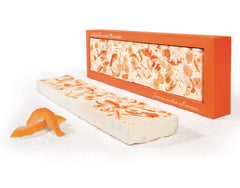 Antica Torroneria Piemontese Soft Torrone Bar - Orange - Torrone Candy