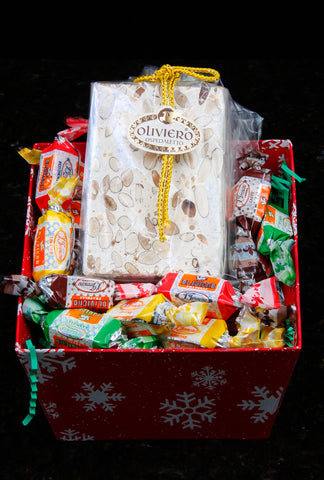 """Calabria"" Gift Basket - Torrone Candy"