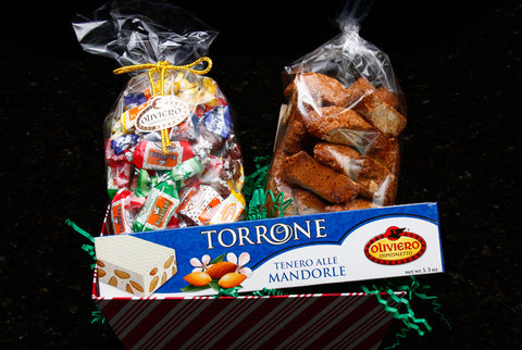 Santa Lucia Gift Basket - Torrone Candy