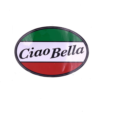 Ciao Bella Car Decal Sticker