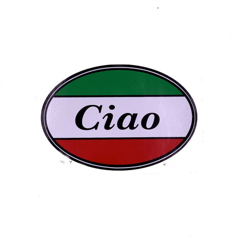 Ciao Car Decal Sticker