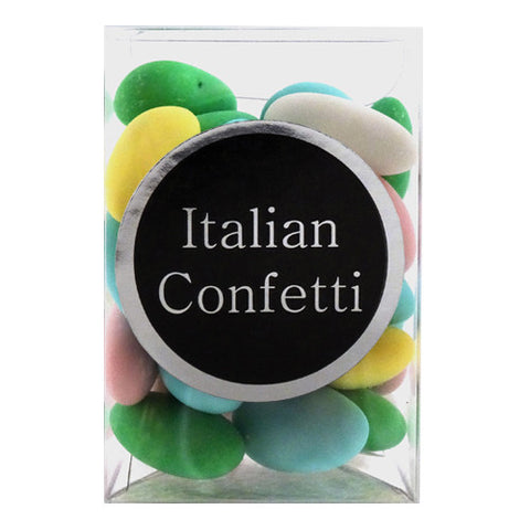 Confetti - Pastel Sugar Coated Almonds - Torrone Candy