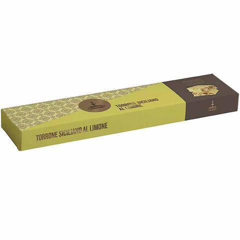 Fiasconaro Soft Sicilian Torrone Bar - Lemon - Torrone Candy