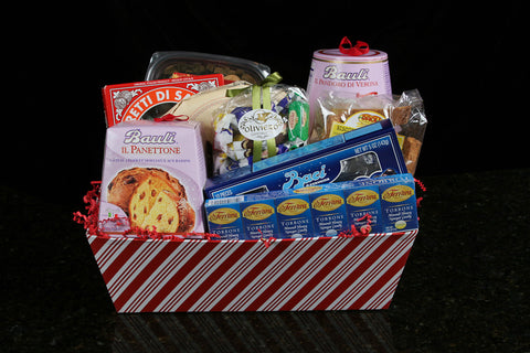 """A Taste of the Holidays"" Gift Basket - Torrone Candy"
