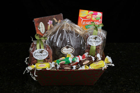 Milano Gift Basket - Torrone Candy