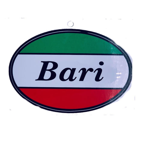 Bari Car Decal Sticker