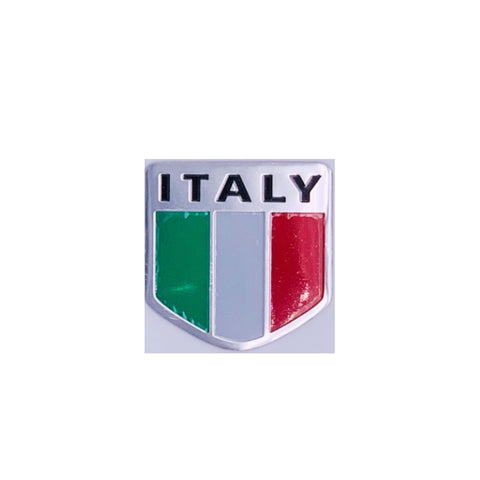 Metal Italian Badge Car Decal