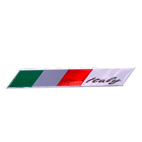 Italy Slant Car Decal