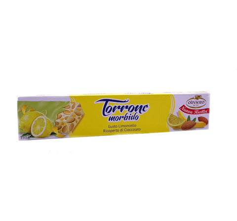 Lemon Covered Limoncello Torrone