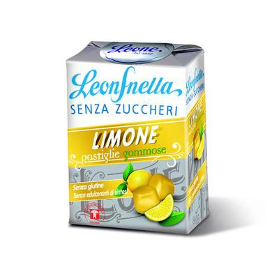 Leone Gummies - Sugar Free - Lemon - Torrone Candy