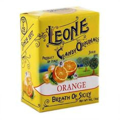 Leone Candy Originals - Orange - Torrone Candy