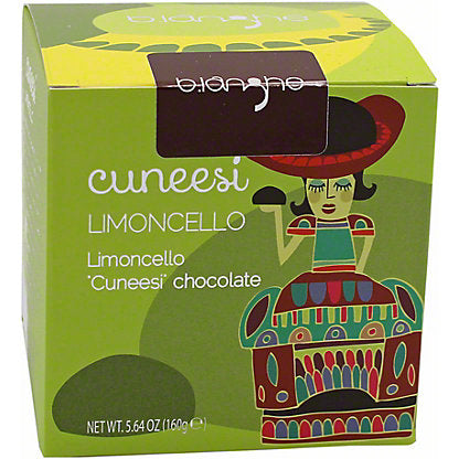 "Limoncello Cream Filled ""Cuneesi"" Chocolates"