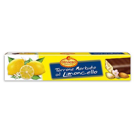Oliviero Soft Torrone Nougat Bar - Limoncello - Torrone Candy