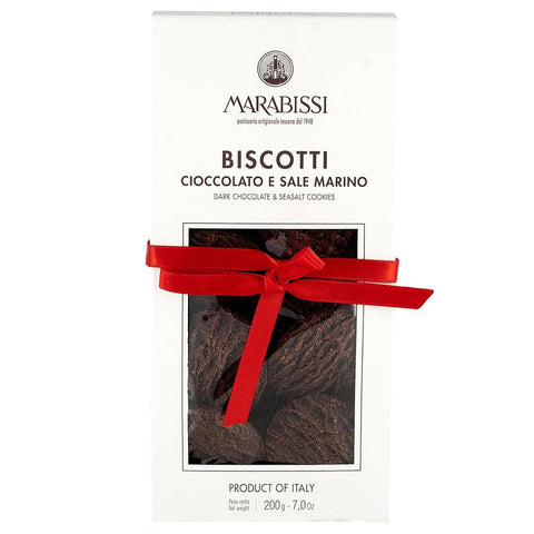 Marabissi Dark Chocolate & Sea Salt Biscotti
