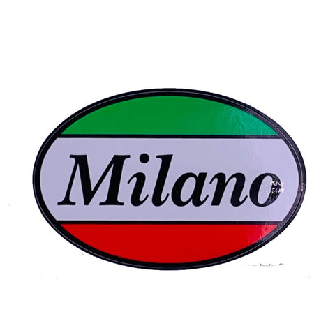 Milano Car Decal Sticker