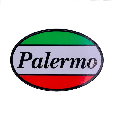 Palermo Oval Car Decal Sticker