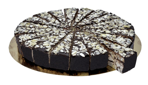 Quaranta Passion Nougat Cake Slice - Chocolate/Almond
