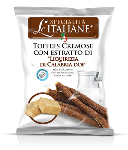 Serra Candies - Soft Toffee Calabrian Licorice - Torrone Candy