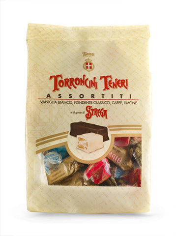 Strega Assorted Soft Torroncini Bag
