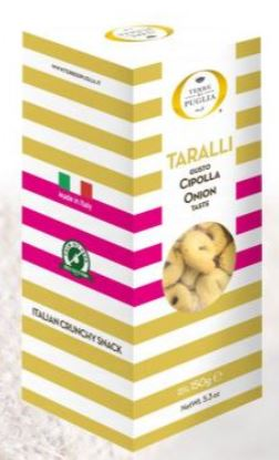 Terre di Puglia Taralli - Cheese & Pepper
