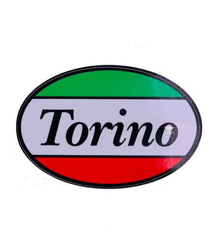 Torino Oval Car Decal Sticker