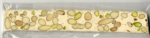 Vadeboncoeur French Nougat Bar (Vermont) - Almond/Pistachio - Torrone Candy