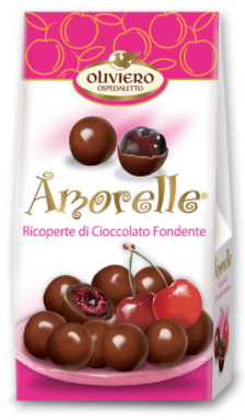 Amorelle - Dark Chocolate Covered Cherries - Torrone Candy