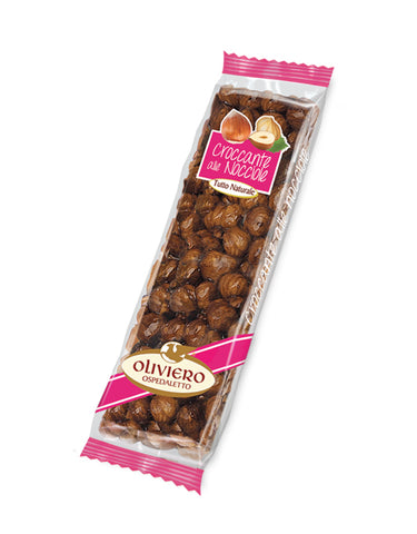 Oliviero Hazelnut Croccante Bar