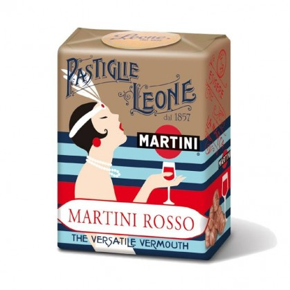 Leone Candy Originals - Martini Rosso - Torrone Candy