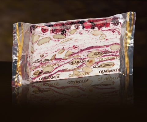 Quaranta Soft Torrone Slice - Country Berries - Torrone Candy