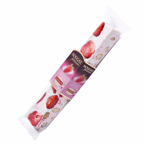 Quaranta Soft Torrone With Strawberries