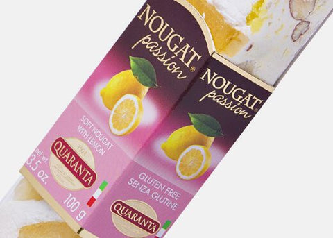 Quaranta Soft Torrone With Lemon