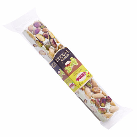 Quaranta Soft Torrone Bar - Pistachio 3.5oz - Torrone Candy