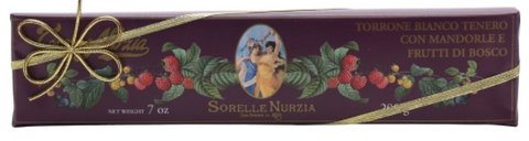 Sorelle Nurzia Hand Wrapped Soft Torrone - Wild Berries