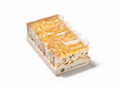Vital Soft Nougat Slice - Orange (Belgium) - Torrone Candy