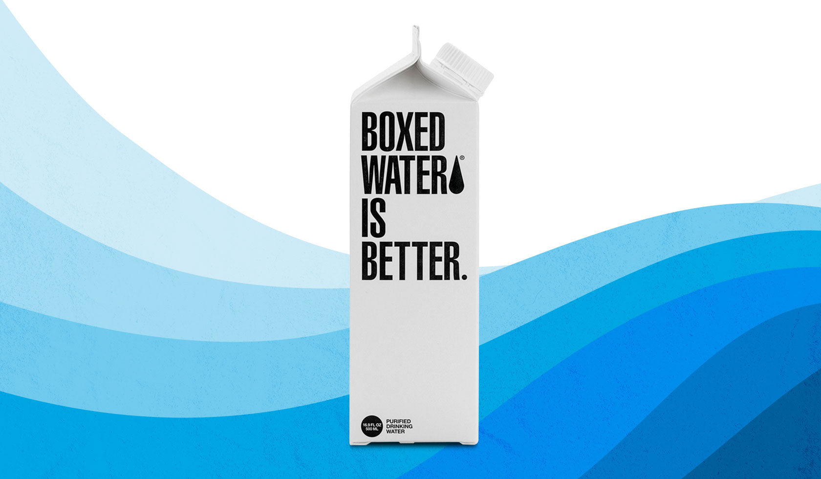 Boxed Water Is Better: All the Sustainably Packaged Water Companies That Are Making a Splash Right Now