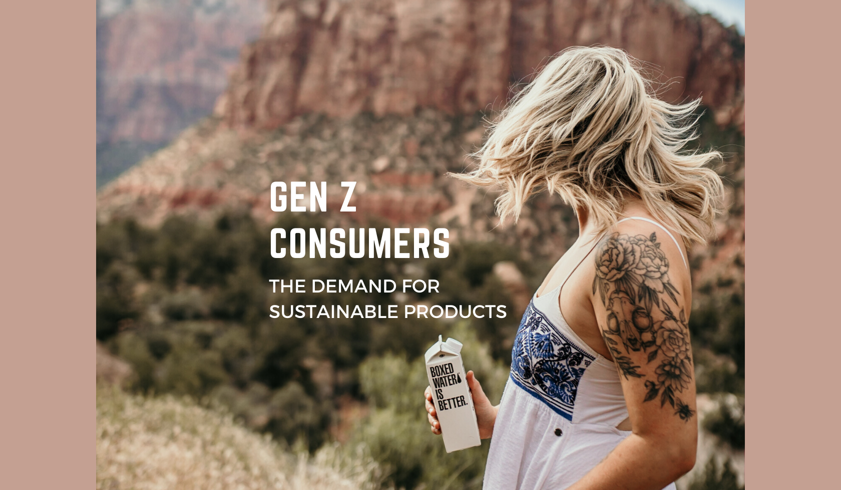 Gen Z consumers want sustainable products