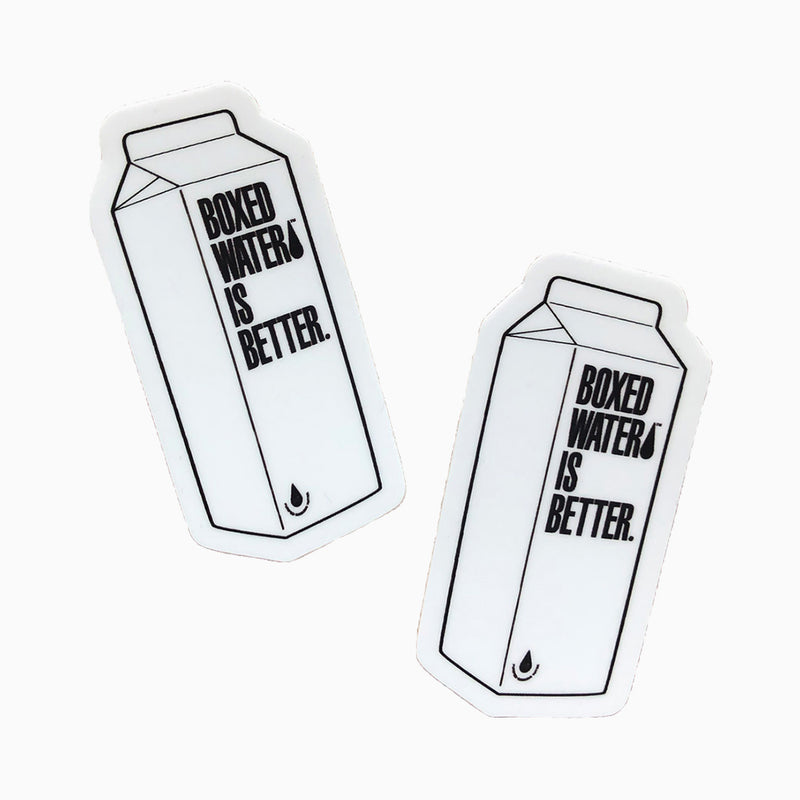 Boxed Water 3D Stickers