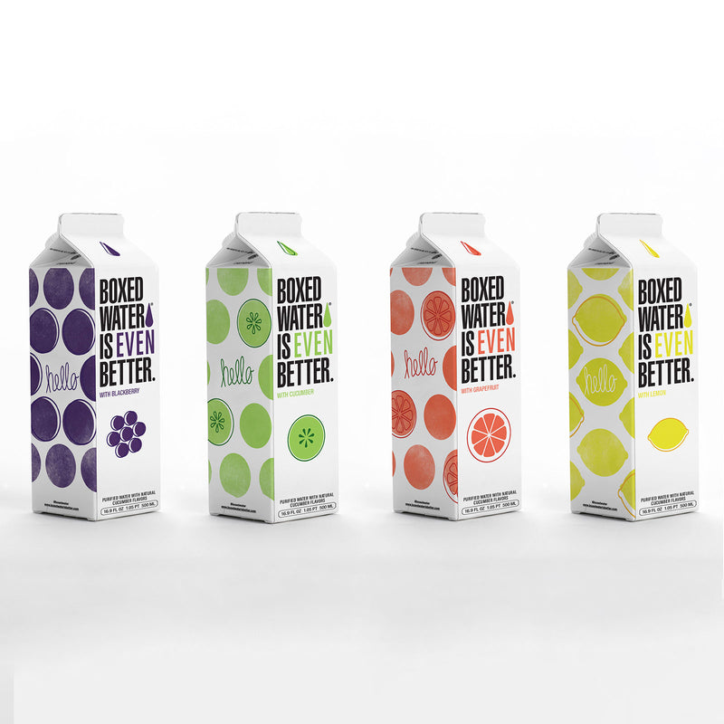 Variety Pack 500mL Boxed Water