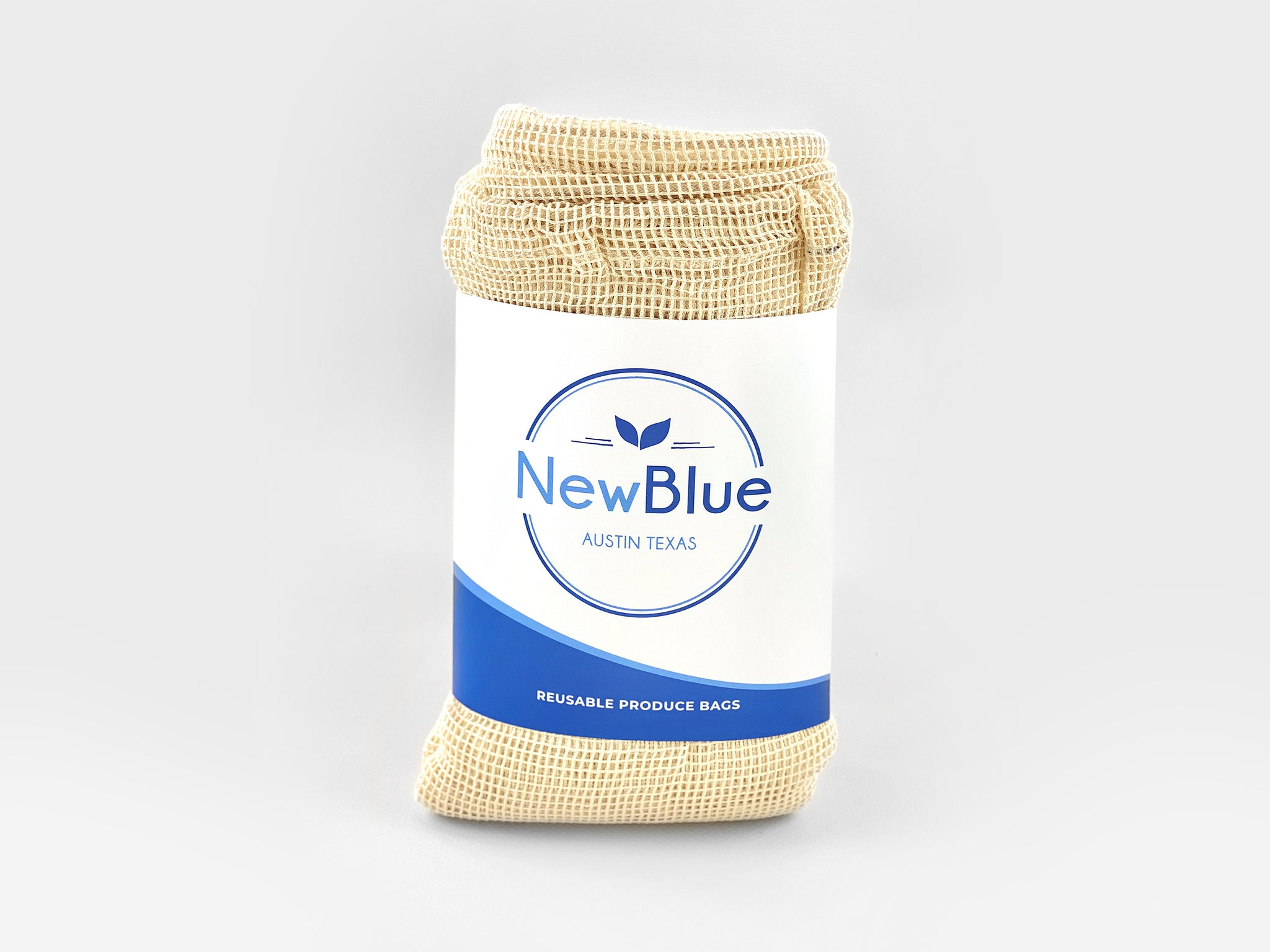 Organic Cotton Produce Bags - NewBlue Bags
