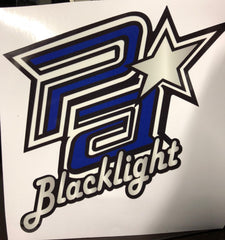 Blacklight Car Decal
