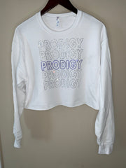 Prodigy Bling Crop Sweat Shirt