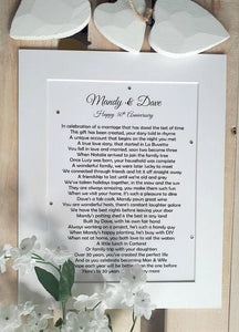 Bespoke Personalised Poem